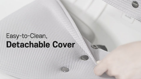 Easy to clean Detachable Cover