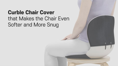 Curble chair Cover that Makes the Chair Even Softer and mre snug