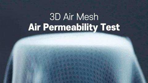 3D Air Mesh Air Permeability Test