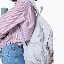 Properly Wear a Backpack.