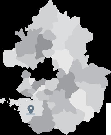 에이블루 제조공장 지도