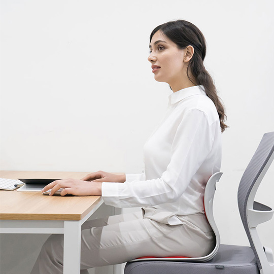 Curble posture chair